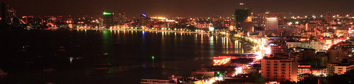 Pattaya night view